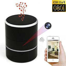 Hidden Camera 1080P WiFi HD Spy Cam Bluetooth Speakers Wirel
