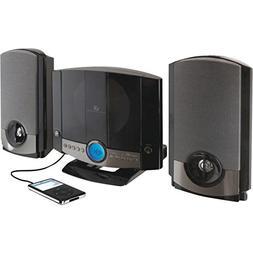 GPX HM3817DTBLK Shelf Stereo System CD Player AM/FM Radio W/