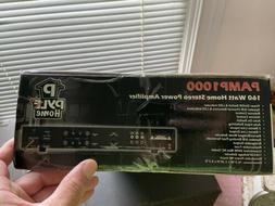 Pyle Home Audio AMP1000 New 160 Watt Stereo Power Amplifier