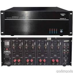 PYLE HOME PT8000CH 8-Channel, 8,000-Watt Stereo-Mono Amp NEW