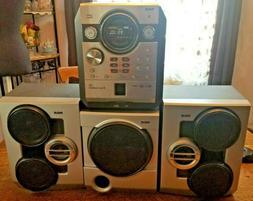 RCA Home Stereo Model RS2656; FM/MP3/5 CD Changer; Subwoofer