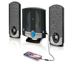 Home Stereo System Wall Mount Music CD Player LCD Display Ra