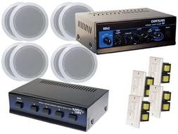 Pyle Home Supreme Amplifier/Speaker package - PTA2 Mini 2x40