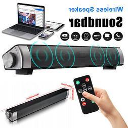 Home TV Speaker Wired Wireless Bluetooth Bass Soundbar Subwo