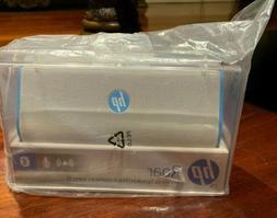 HP Roar Wireless Speaker. Bluetooth. White/Blue
