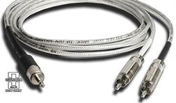 Analysis Plus iPod Cable Stereo 3.5mm to Stereo RCA 1m New
