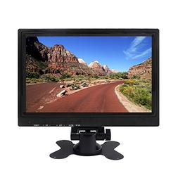 Computer Monitor Portable IPS LCD Monitor 10.1 Inch Small Bu