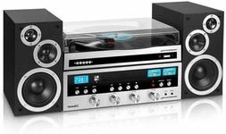 it bluetooth 3 speed turntable home classic