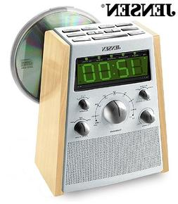 Jensen JCR560 AM/FM Stereo Dual Alarm CD Clock Radio