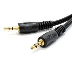 kenable 3.5mm Male Audio Jack Plug to Plug Stereo Mini AUX C