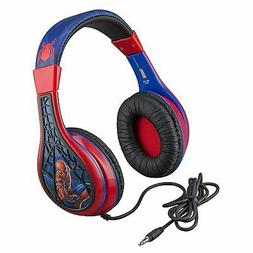 Kids Spiderman Far From Home Volume Control Headphones Adjus
