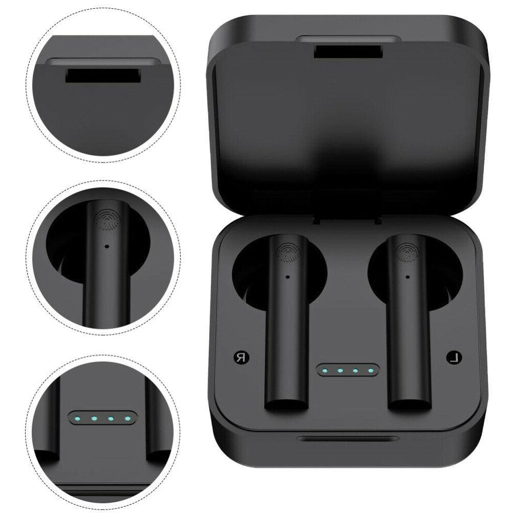 1 Pc Stereo Headset Earpiece Sport Travel