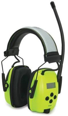 Howard Leight by Honeywell 1010390 Hi-Vis Radio and MP3 Ear