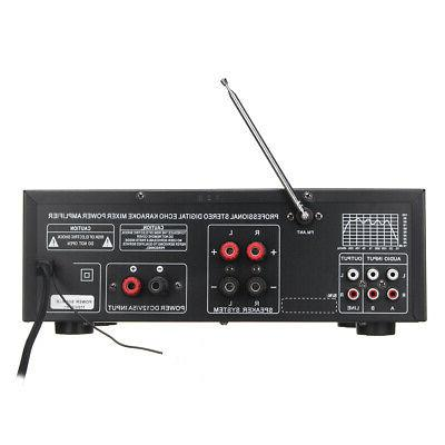 110V Home Amplifier Powered Receiver 0