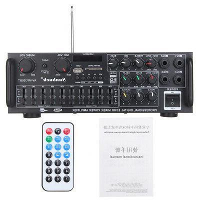 110V bluetooth Home Amplifier Receiver