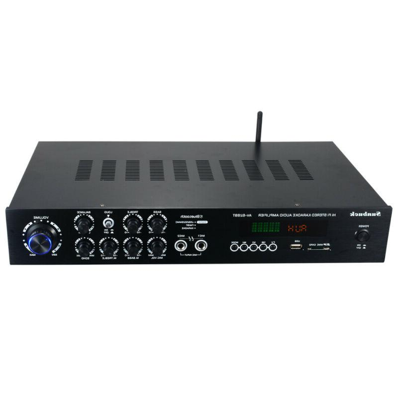 1120W 110V 5Ch bluetooth Home Stereo Power Amplifier Receive