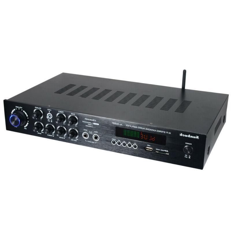 1120W 110V 5Ch Home Stereo Equalizer Receiver