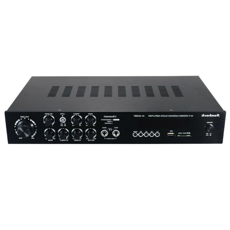 1120W 110V bluetooth Home Stereo Equalizer