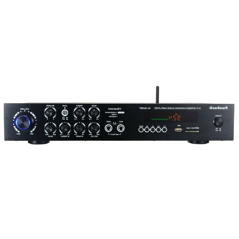 1120W 5Ch Home Stereo Power Receiver