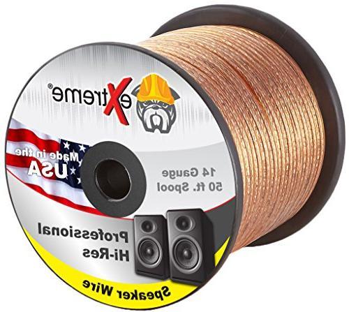 14 gauge speaker wire core