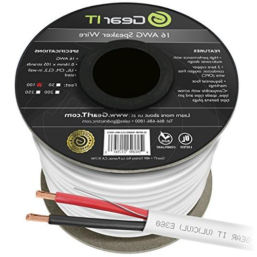 16 awg cl2 ofc wall