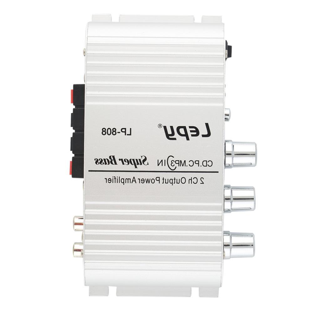 1pc 12V Hi-Fi Audio <font><b>Amplifier</b></font> USB Port for Car MP4