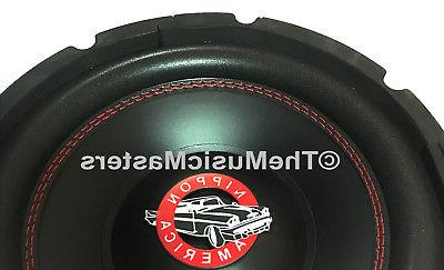 """10"""" Home Stereo Sound Speaker Bass Driver Ohm Sub"""