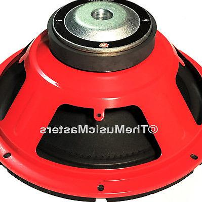 "10"" Home Sound Studio WOOFER Subwoofer Speaker Bass Driver 8 Ohm Sub"