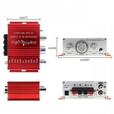 2-CH Mini Car Stereo Amplifier CD Player 12V