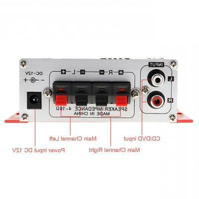 2-CH Mini Handover Car Audio Amplifier CD Player 12V