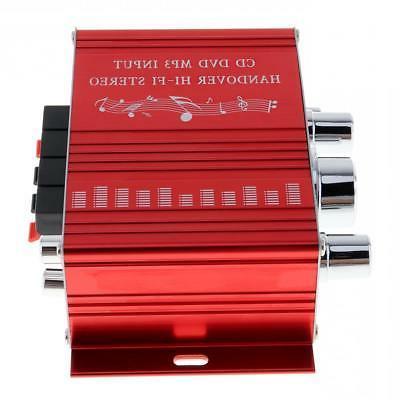 2-CH Hi-Fi Car Stereo Amplifier CD MP3 Player 12V