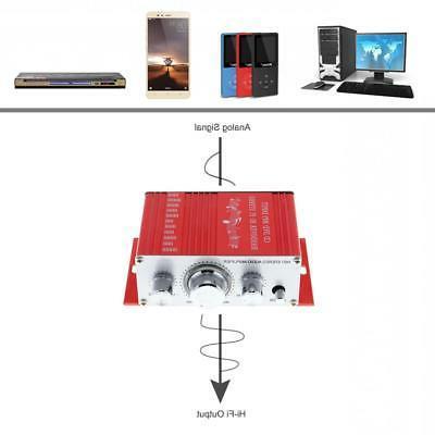 2-CH Mini Handover Car Home Stereo Amplifier Player 12V