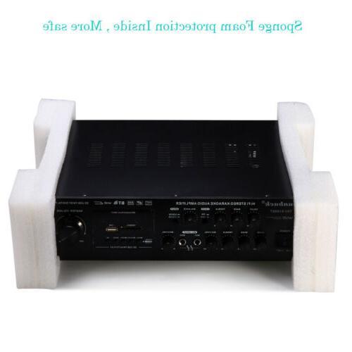 2 Channel 2000Watt Bluetooth 4.0 Power Amplifier AMP