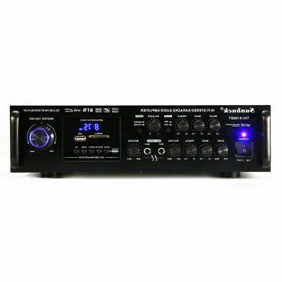 2 2000Watt 4.0 Home Power Amplifier AMP FM