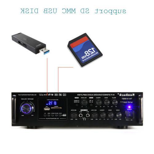 2 4.0 Stereo Power AMP USB SD