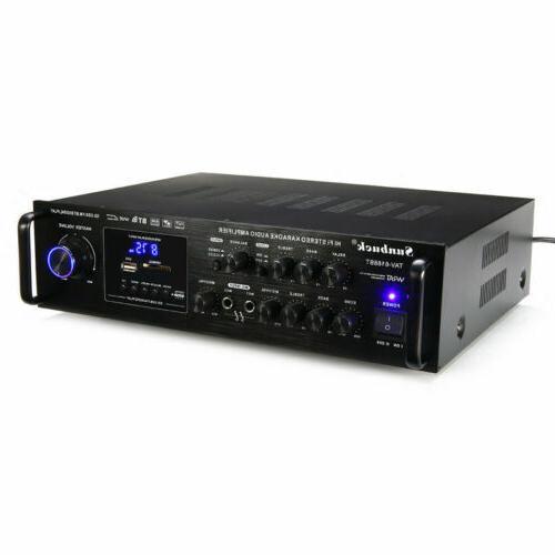 2 2000Watt 4.0 Hi-Fi Power FM USB SD