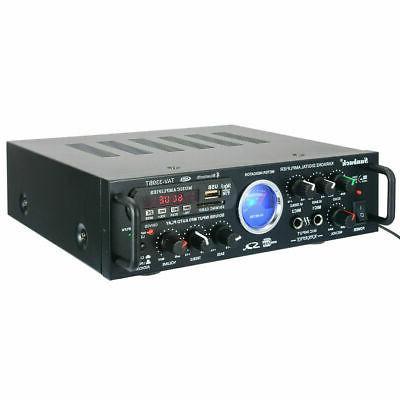 2000W 2CH VU Bluetooth audio AMP FM