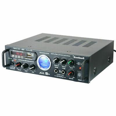 2000W 110V Bluetooth stereo amplifier HiFi AMP SD