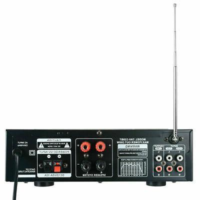 2000W Bluetooth stereo power HiFi AMP FM