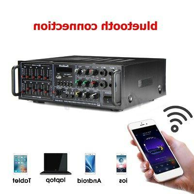 325BT Stereo Amplifier Audio 2Ch AMP EQ FM SD