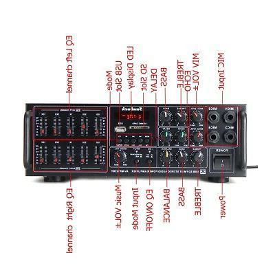 325BT Digital Stereo Power Amplifier Audio 2Ch