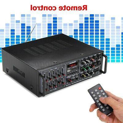 325BT Stereo Power Audio AMP FM