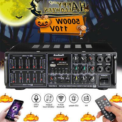 2000w 110v 325bt bluetooth 2ch power amplifier