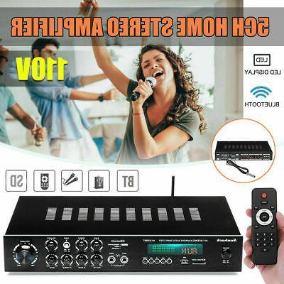 2000W 110V 5Ch Home Power Audio SD