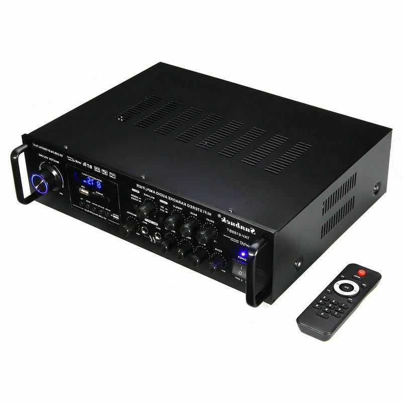 2000W HIFI bluetooth Stereo Audio Mixer Car Home