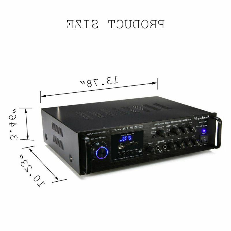 2000W HIFI Audio Mixer Mic Car Home