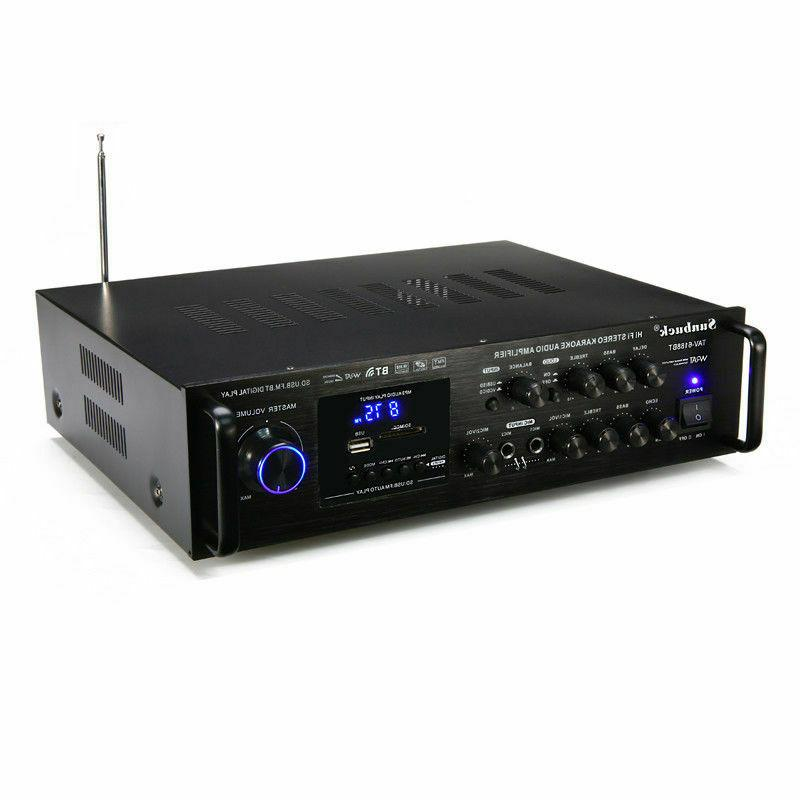 2000W HIFI AMP Stereo Audio Mixer Home