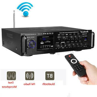 bluetooth 110V Home Power System FM