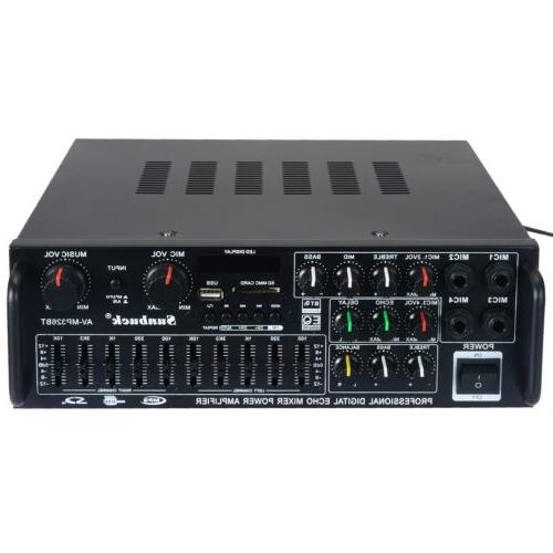 2000W Home Amplifier Audio USB AMP 110V