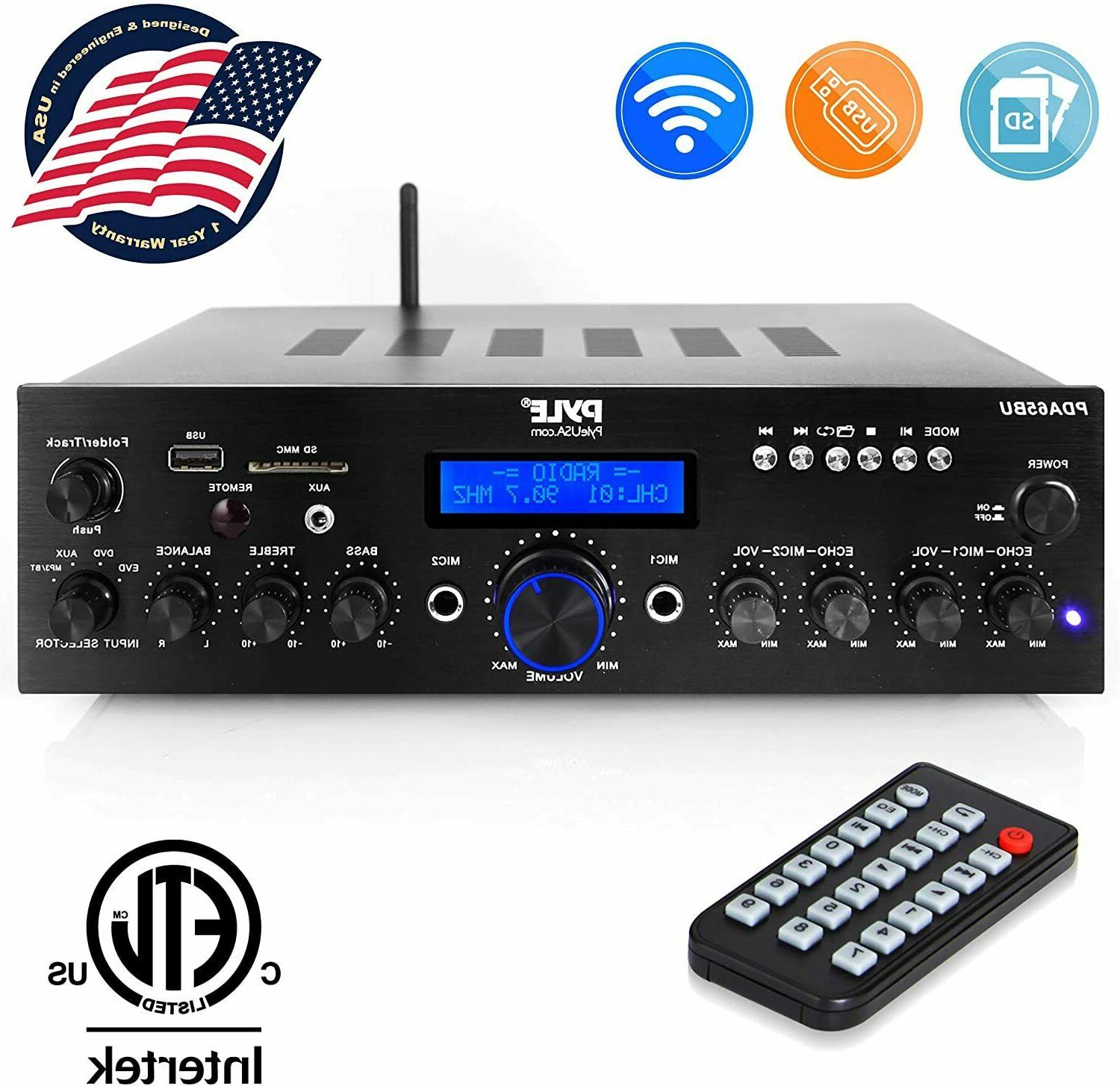 200W BLUETOOTH HOME THEATER STEREO DIGITAL AUDIO RECEIVER AM
